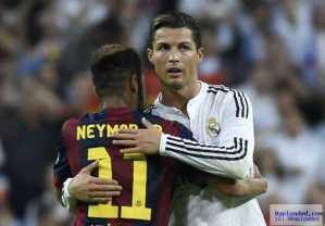 Ronaldo will win next Ballon D'Or – Neymar